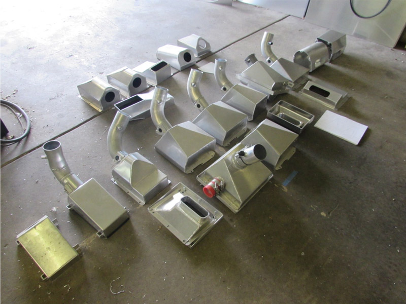Prototype air intakes
